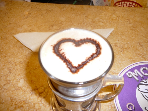Cappuccino - Harrod's, London