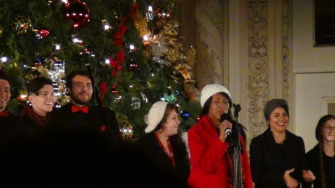 Performers at December Nights, Balboa Park, San Diego