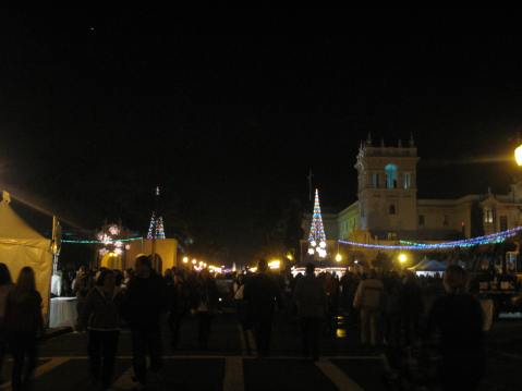 Balboa Park, December Nights, San Diego