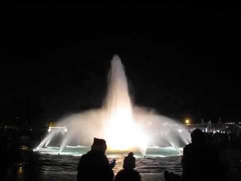 Fountain, Balboa Park, San Diego