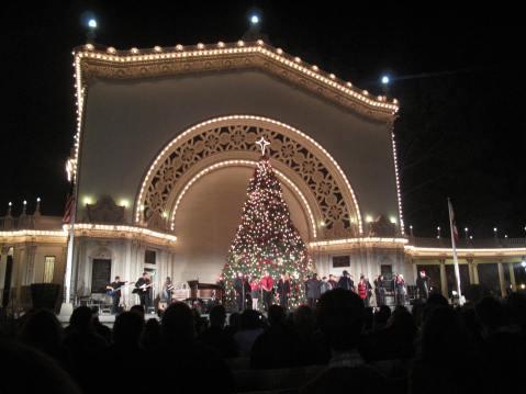 December Nights at Balboa Park