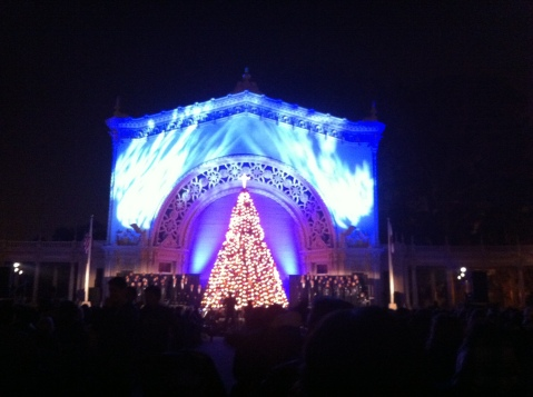 December Nights, Balboa Park, San Diego