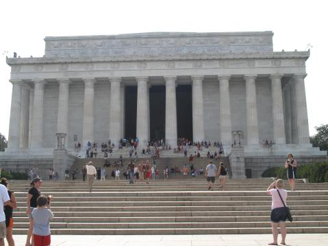 The Lincoln Memorial, Washington, DC