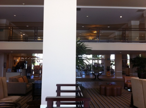 The Lobby of the Grand Pacific Palisades Resort, Carlsbad, San Diego