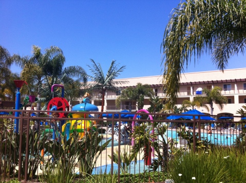 Outdoor Splash Area, and Kids Pool, Grand Pacific Palisades Resort, San Diego