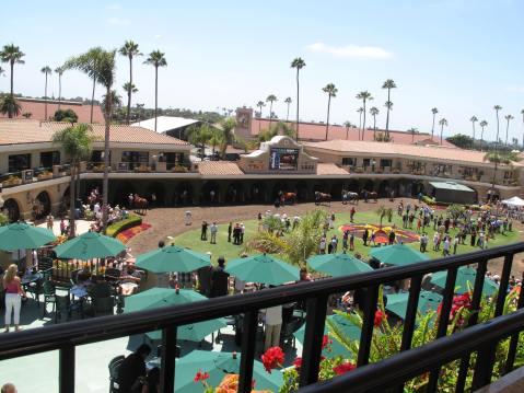 Del Mar Racetrack, San Diego