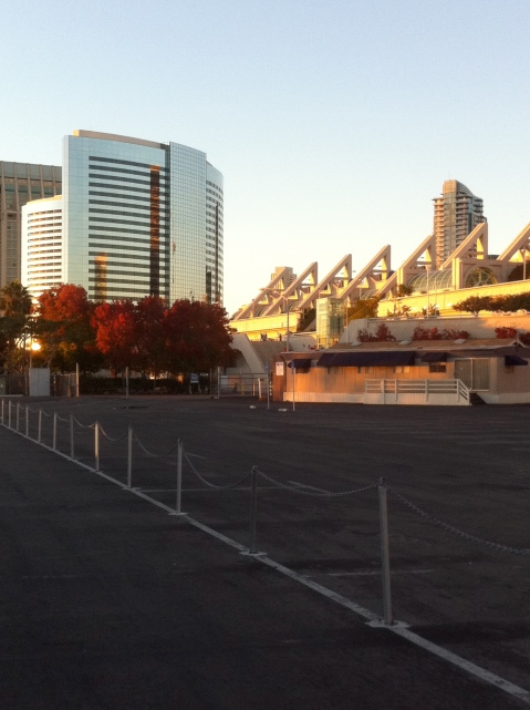 The San Diego Convention Center & The Marriott Marquis & Marina