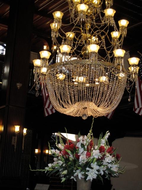 Hotel Del's Lobby Chandelier, Coronado