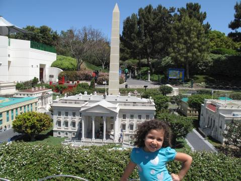 Washington, DC in Legoland, Carlsbad, California