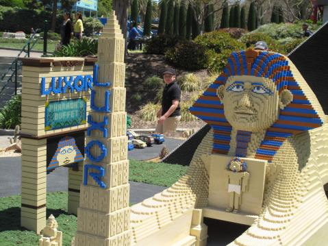 Luxor at Legoland, Carlsbad, California