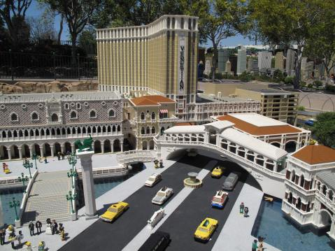 The Venetian in Legoland, Carlsbad, California