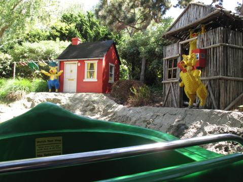 Fairytale Brook Ride, Legoland, Carlsbad