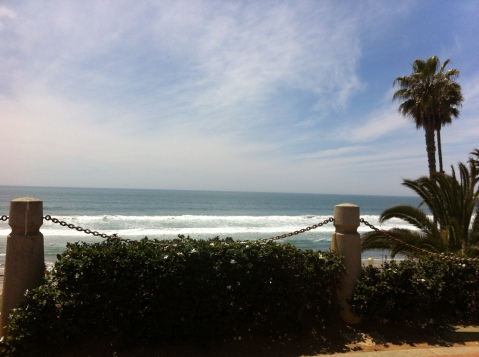 The beach at Oceanside (San Diego)