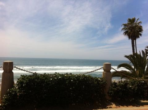The beach at Oceanside (San Diego)