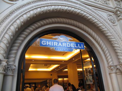 Ghiradelli Chocolate Factory, San Francisco, CA