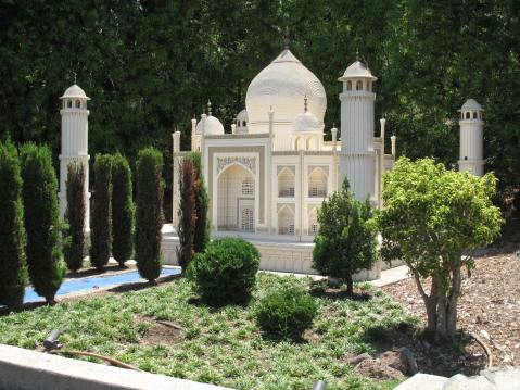 The Taj Mahal at Legoland, CA