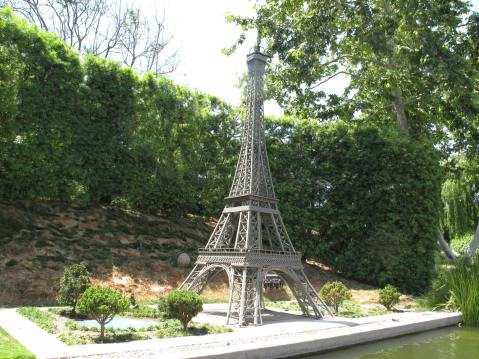 The Eiffel Tower, Paris, France at Legoland, CA