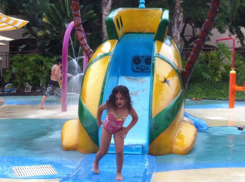 Kids Splash Area at the Kids Pool, Grand Pacific Palisades, Carlsbad