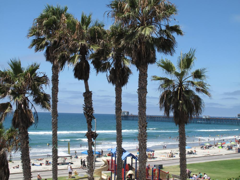 Where's This Beach...Hope It's Within Reach!  It's in Oceanside! (2/6)