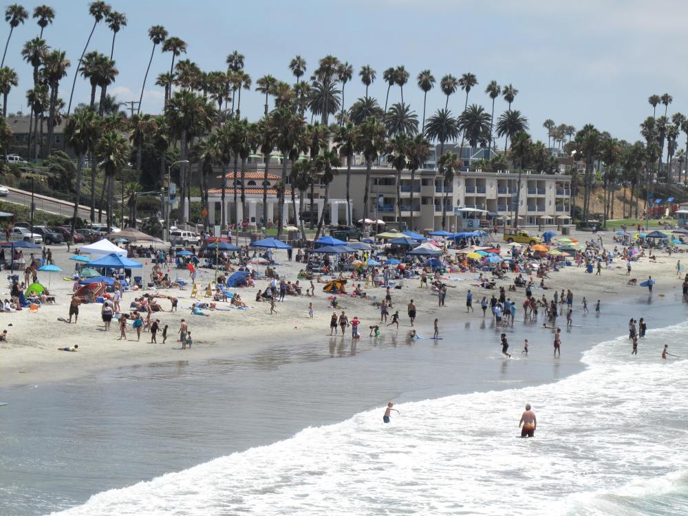 Where's This Beach...Hope It's Within Reach!  It's in Oceanside! (3/6)
