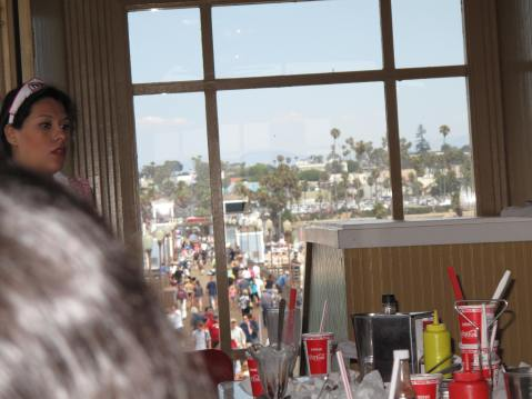 Ruby's Restaurant, Oceanside Pier, CA