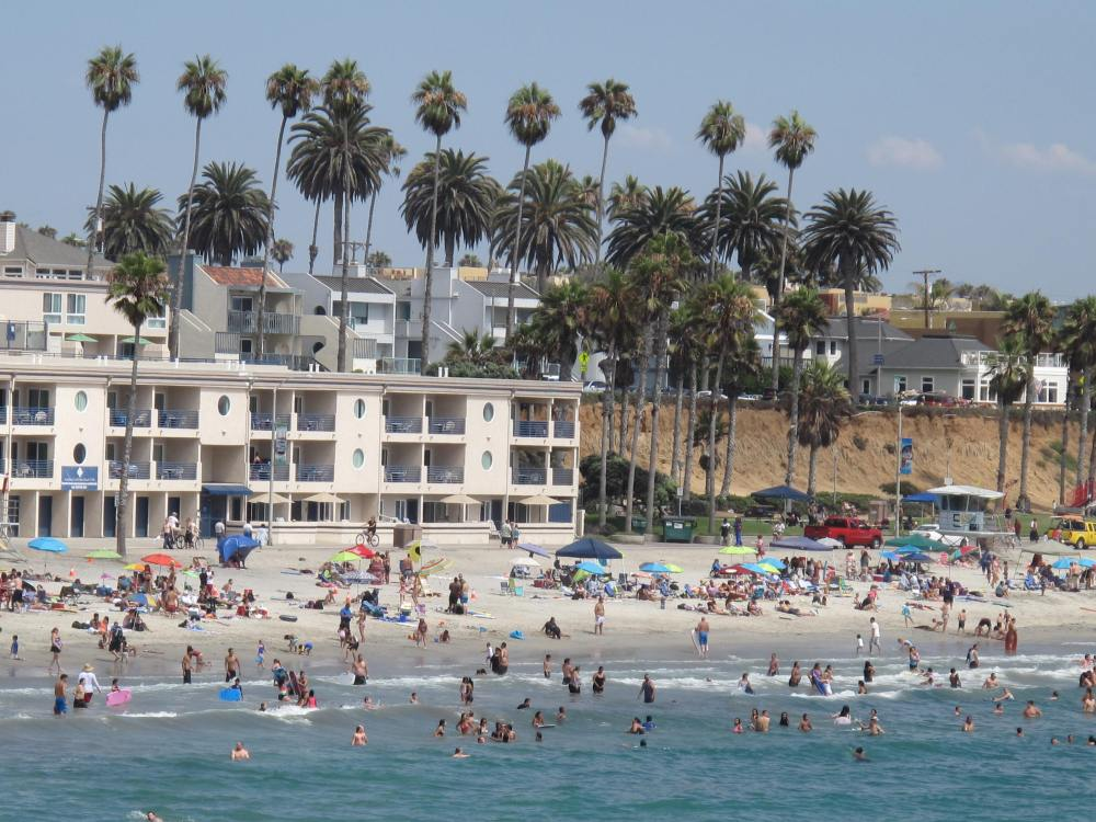 Where's This Beach...Hope It's Within Reach!  It's in Oceanside! (4/6)