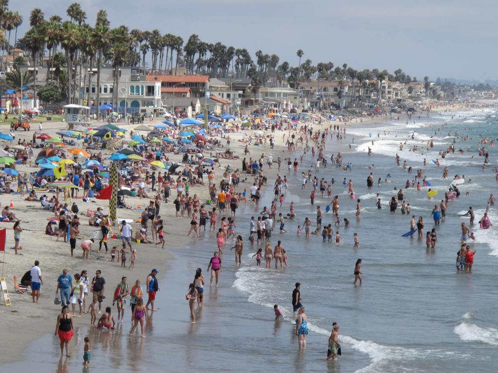 Where's This Beach...Hope It's Within Reach!  It's in Oceanside! (1/6)