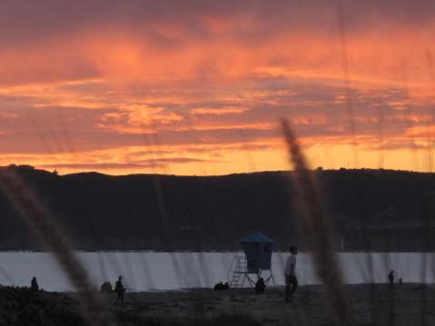 Sunset at Coronado