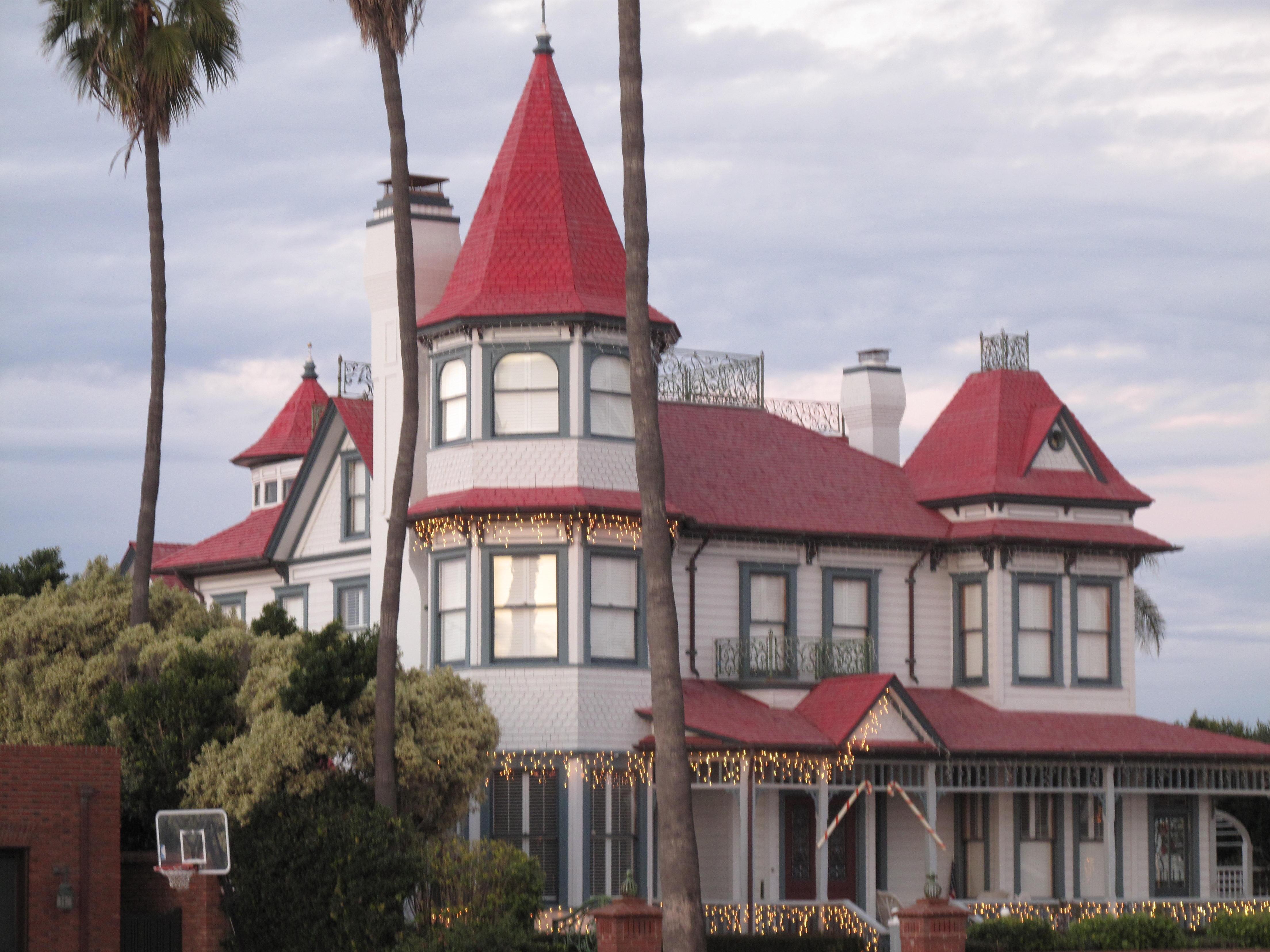 A house near the Hotel Del, Coronado