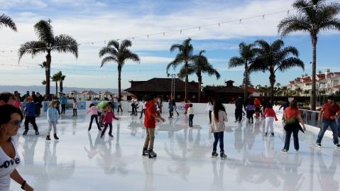 Hotel Del Ice-Skating Rink, Coronado
