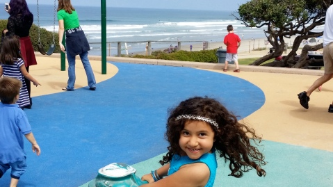 Children's Playground, Del Mar Beach