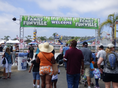The Fab Fair at the Del Mar Fairgrounds, San Diego