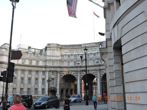 Admiralty Arch, near Trafalgar Square