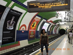 The London Underground - Piccadilly Circus
