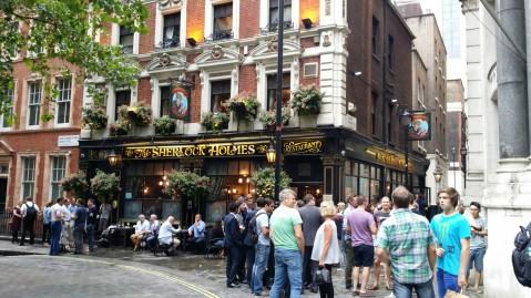 Sherlock Holmes Pub/Restaurant