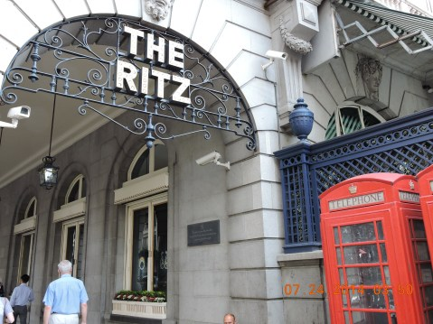 The Ritz Hotel, Picadilly