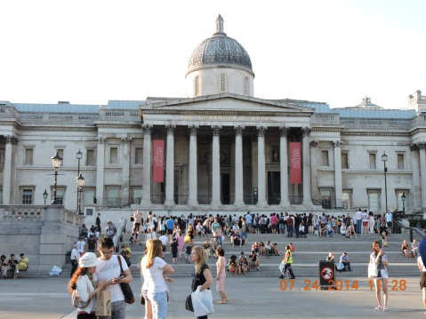 National Gallery at Trafalgar Square