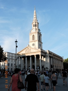 St. Martin In The Fields, Trafalgar Square