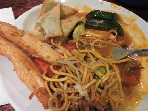 Hong Kong Buffet, Chinatown, London
