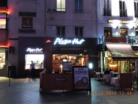 Pizza Hut, Leicester Square