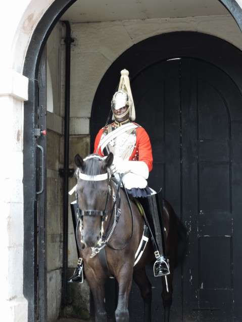 Life Guard, Household Cavalry - Horse Guards Parade, Whitehall
