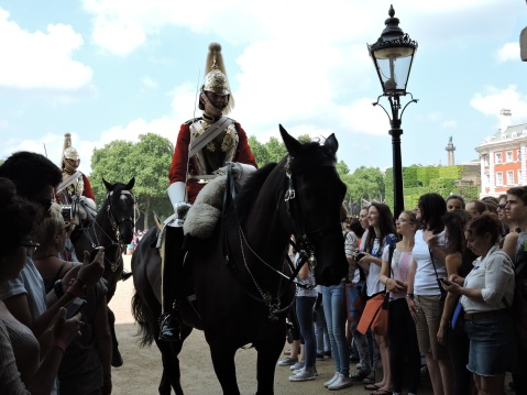 Household Cavalry, Horse Guard Parade