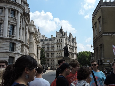 Whitehall, outside of Horse Guards Parade