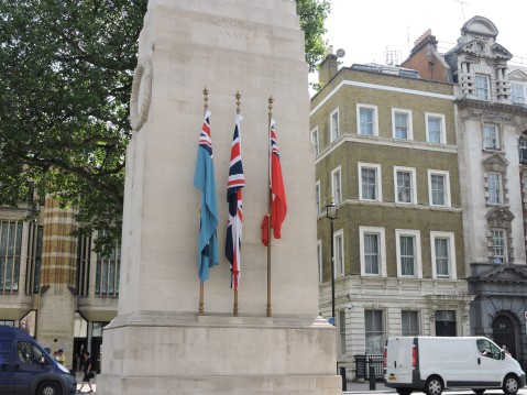 The Cenotaph - War Memorial commemorates end of World War 1