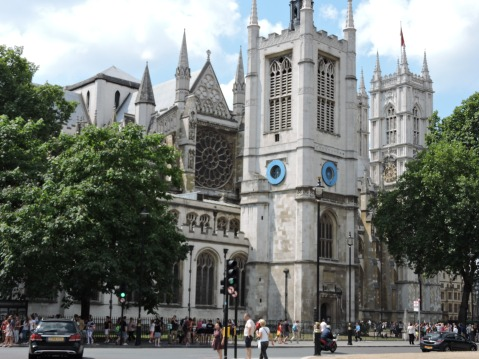 St. Margaret's Church, next to Westminster Abbey