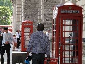 London Phone Booths in Westminster