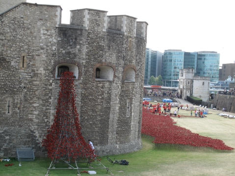 The Tower Of London and A Sea of Remembrance