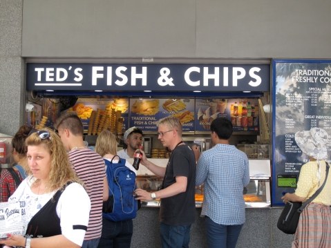 Ted's Fish & Chips, Tower Hill, London #21