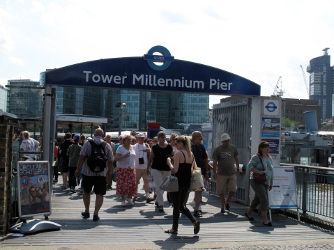 Millennium Pier, Tower Bridge #22