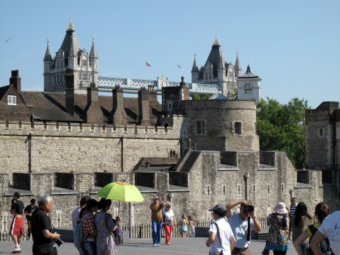 The amazing Tower Bridge and Tower Of London